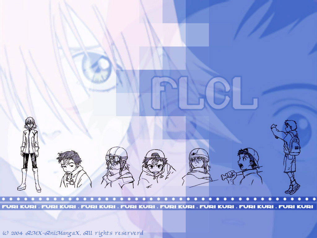 AMXv3:: Fooly Cooly (FLCL) Wallpapers