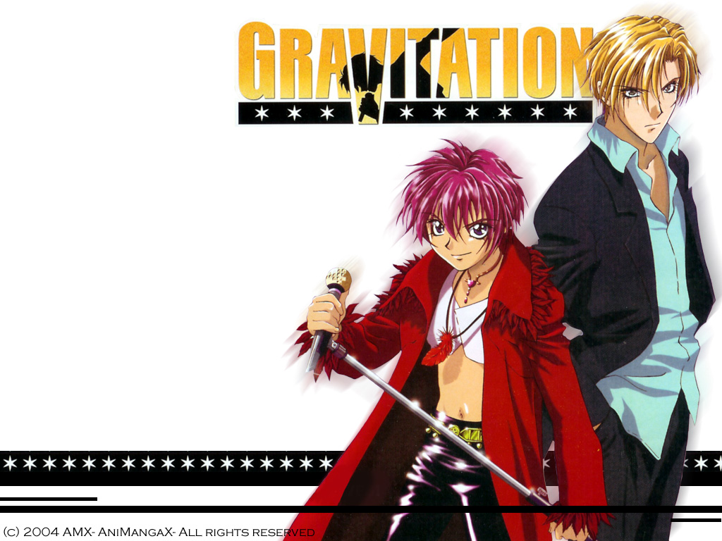 Gravitation anime picture